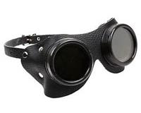 Alu--Leather-Goggles